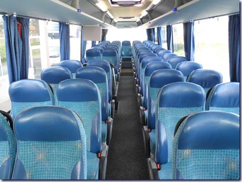 Pullman a noleggio: noleggio pullman neoplan azzurro in autonoleggio